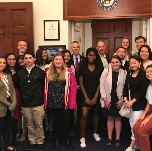 DC Program at the Capitol with Rep. Brindisi, Spring 2019