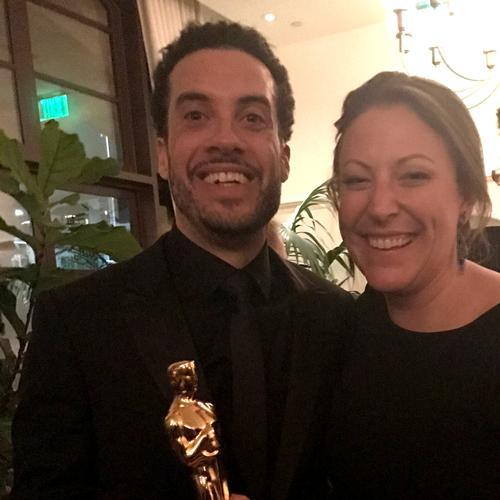 Director Ezra Edelman and alumna Deirdre Fenton '04