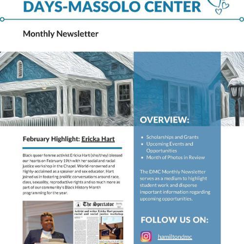 March Days-Massolo Center Newsletter (p1)