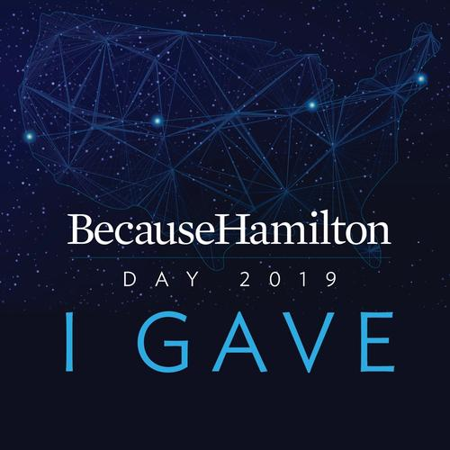 I Gave: Because Hamilton Day 2019