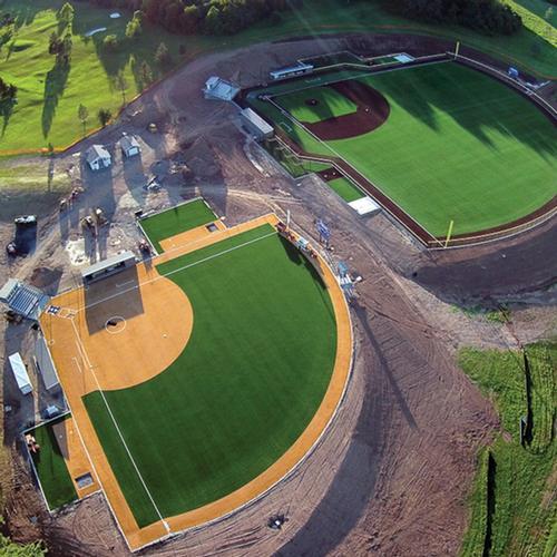 baseball and softball fields