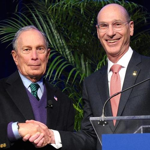 President Wippman Presents Michael Bloomberg with an Honorary Degree