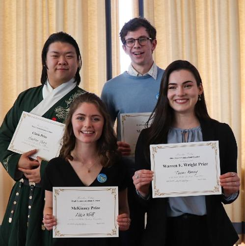 Public speaking competition winners '20