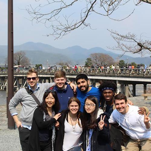 Japan class in Hiroshima