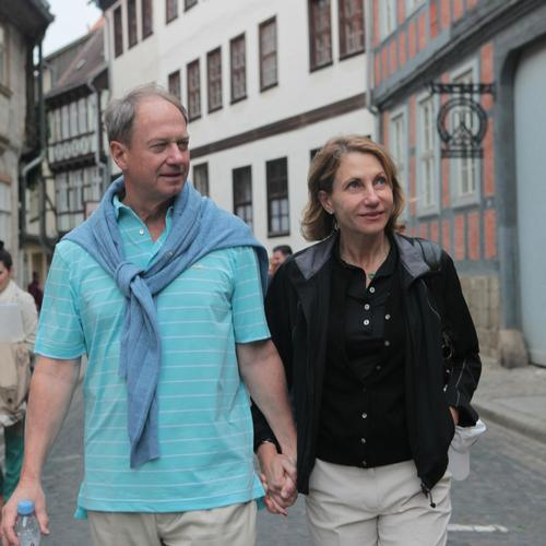 John and Kimberly Emerson in Quedlinburg.