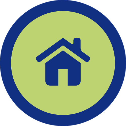 residential learning icon