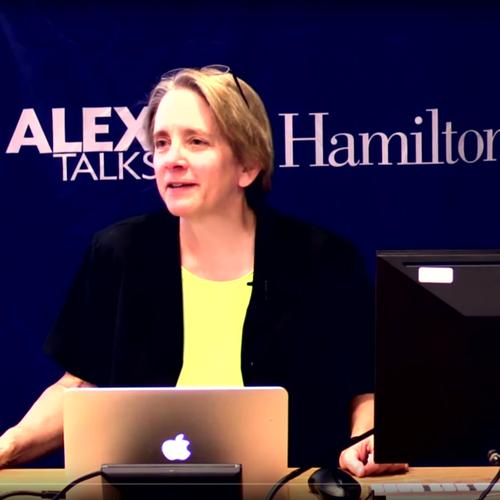 Screenshot of Lydia Hamessley - Alex Talk