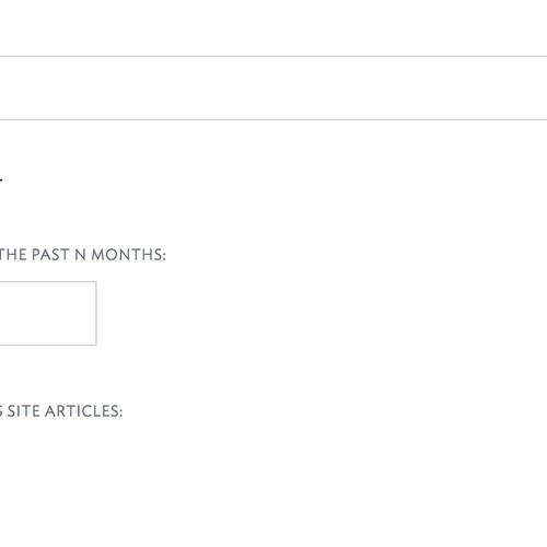 SiteManager - News List help