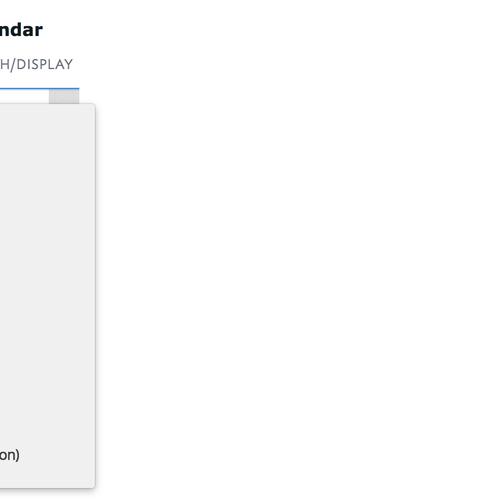 SiteManager - Events Calendar
