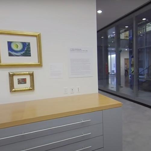 Screenshot: A Fine Disregard Exhibition 360 Video