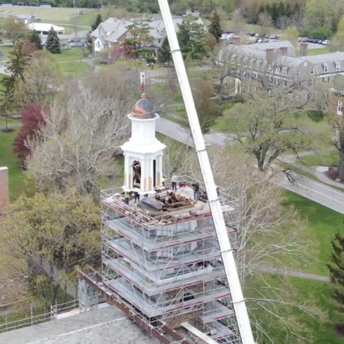 screenshot of cupola removal