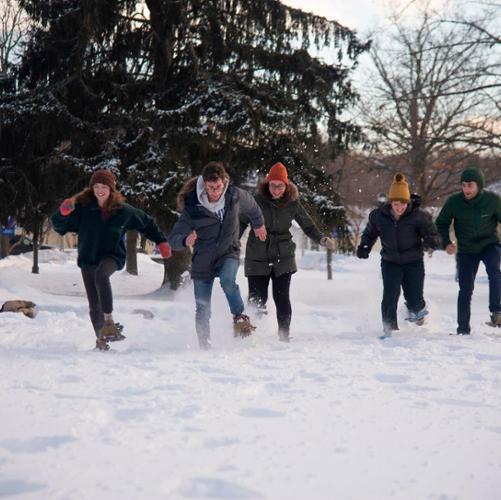 feb fest snowshoe