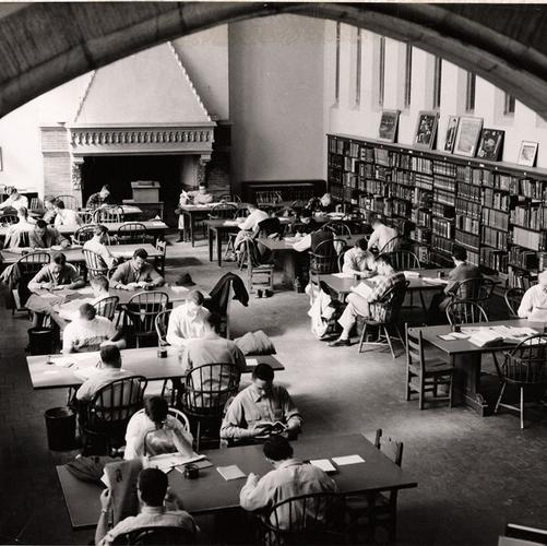 James Library Reading Room, 1954