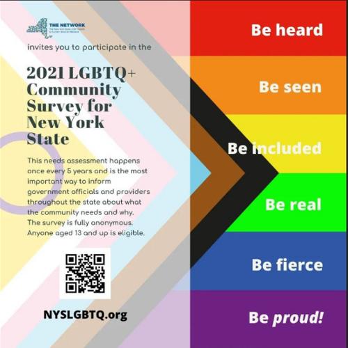 NYSLGBTQ Community Survey for New York State