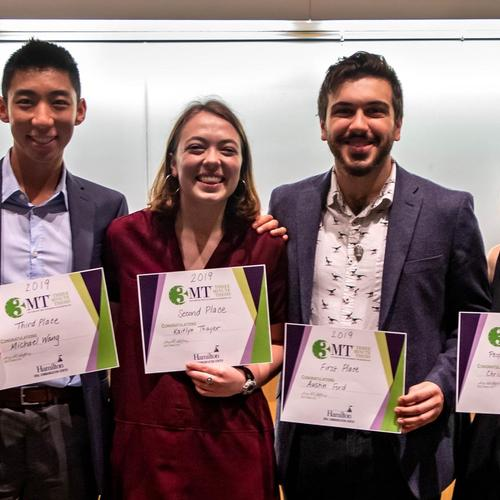 2019 Three Minute Thesis Winners
