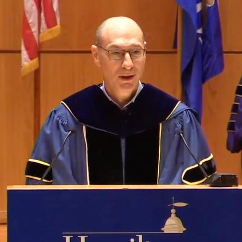 President Wippman at 2018 Convocation