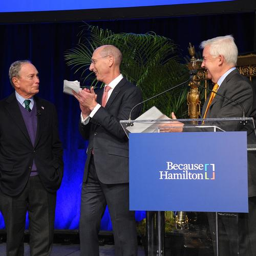 Michael Bloomberg, David Wippman and Jeff Little