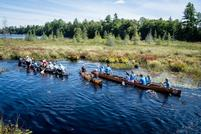 Marathon Canoe Team Competes in 90-Miler