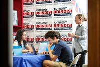 Brindisi & Tenney Volunteers Persist Despite Heat & Rain