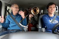 Holiday Greetings From Carpool Karaoke - Jitney Style!