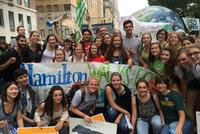 Hamilton Students, Alumni Participate in Largest Climate March in History