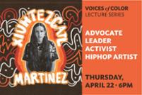 """Activist and Musician """"X"""" Speaks in Voices of Color Lecture Series"""
