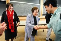 Shirin Ebadi, Women's Studies Classes Examine Patriarchy, Social Inequality