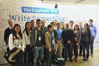 NYC Program Students Visit Fabio Freyre '83 at Facebook
