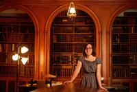 Leigh Gialanella '15 Continues on Path That Began in Hamilton's Archives