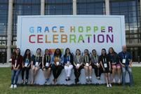 Students Attend Grace Hopper Celebration of Women in Computing