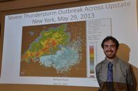 Michael Hosek '19 Caps Meteorology Study With Internships