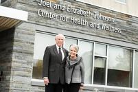 Johnson Center for Health and Wellness Dedicated