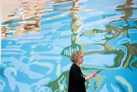 Artist Jacquette Leads Tour of Her Exhibition