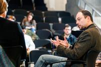 Russian Democracy Advocate Kara-Murza Screens Film, Visits Class