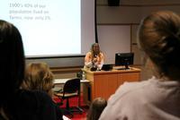 Urban Gardener Karen Washington Lectures on Food Justice