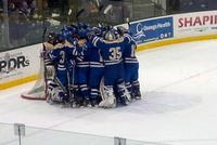 Men's Hockey Makes History With 3-1 NCAA win at SUNY Oswego