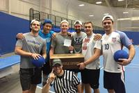 Men's Hockey Ices Competition in Dodgeball Tourney
