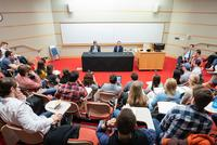Messina, Priebus Share White House Insider Views With Students