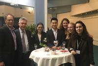 Five Students Attend Model EU in Brussels