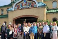 Students View Russian Orthodox Traditions in Monastery Visit