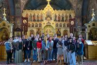 Russian Studies Program Tours Monastery