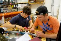 Physics Students Engaged in National Research Project