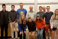 Comparative Econ. Class Welcomes Rob Morris '76