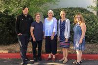 Hamilton Team Attends NACADA Summer Institute