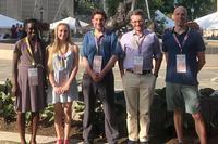 Rosenstein, Ganson '21 Attend Organic Chemistry Symposium