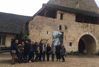 Hamilton in France Visits Burgundy Region