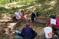Pike '20 Helps Lead Hamilton Archaeology Field School