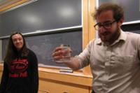 Cruz '21, Projansky '21 Conduct Nuclear Physics Research