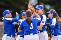 Softball Sweeps to Earn Most Wins in Hamilton's History