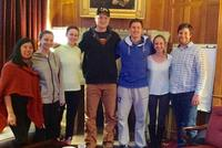 Hamilton Students Teach Spanish at Clinton School